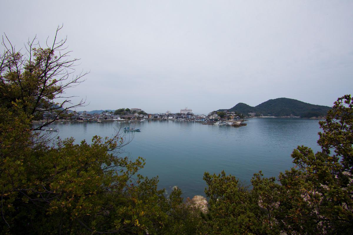 淀媛神社からの眺望